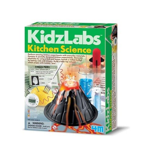 Joc educativ stiinta in bucatarie, Kitchen Science, KidzLabs